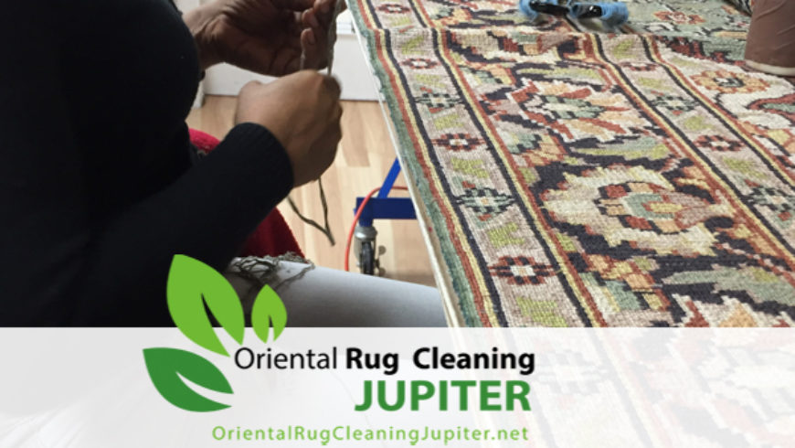 The Best Rug Repair Method in jupiter