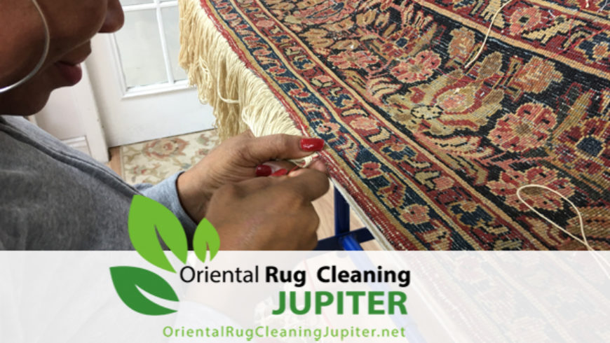 Professoinal Rug Restoration Process in jupiter